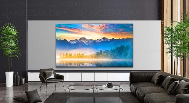 TV LED Ultra HD 8K LG NANO996, mise à jour spécifications et prix indicatifs