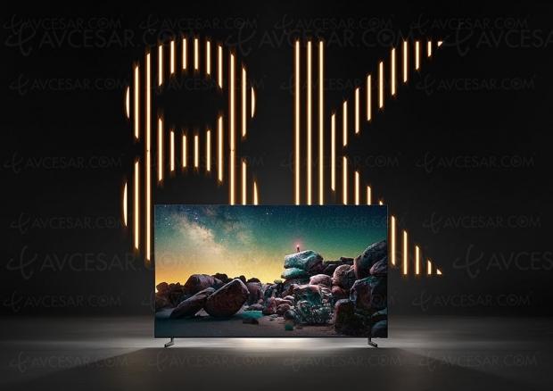 Deux millions TV Ultra HD 8K en 2020