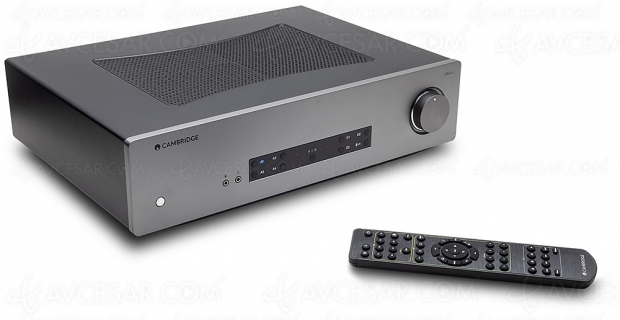 Amplificateur stéréo Cambridge Audio CXA61, Class AB, DSD et Bluetooth APT‑X