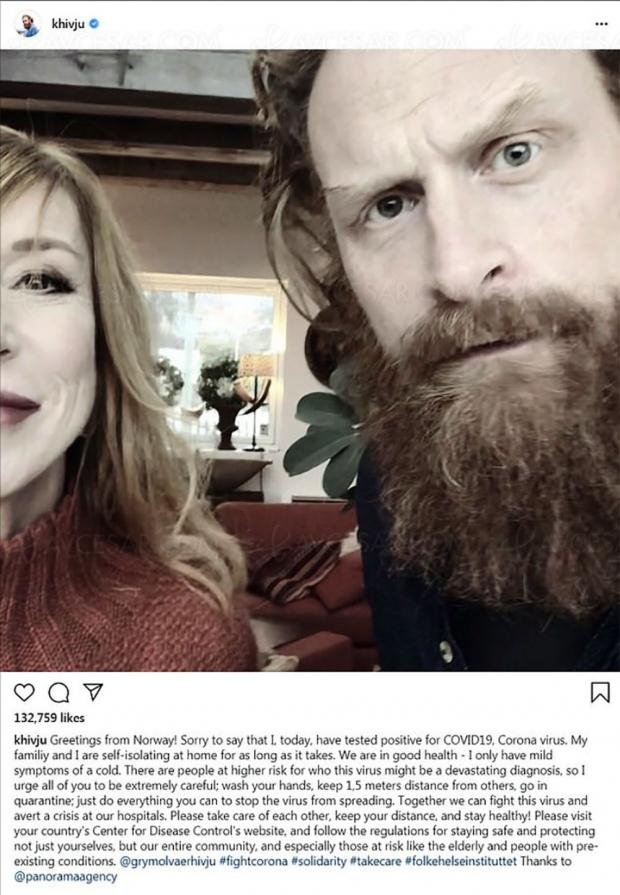 Tormund de Game of Thrones : le petit-cousin d'Isabelle Nanty a le coronavirus