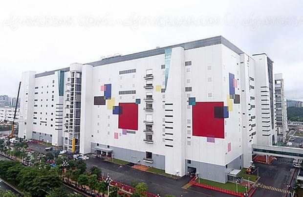 Usine TV Oled LG Display de Guangzhou en Chine, début de la production annoncée pour le mois de mai