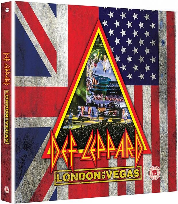Def Leppard réunit deux live dans un seul coffret Collector (aussi en VOD)