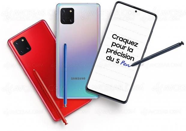 Samsung Galaxy Note10 Lite, le smartphone pro pour tous