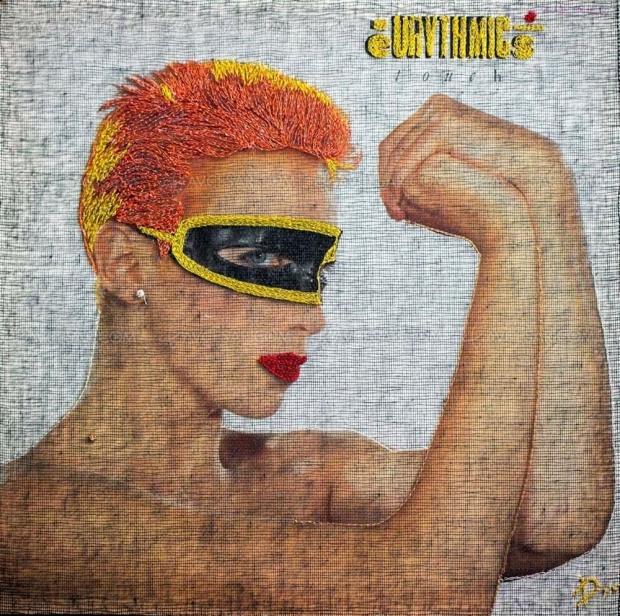 Mylène Farmer, Daho, Bowie… Delphine Leverrier, la brodeuse rockeuse de (disques) diamants