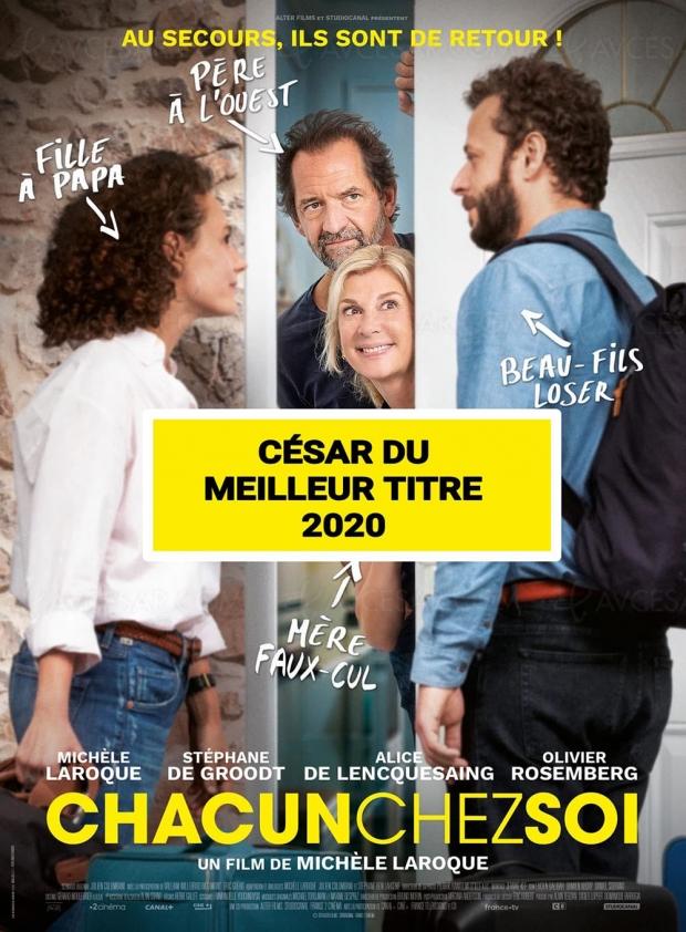 César (involontaire) du meilleur titre 2020 pour Michèle Laroque
