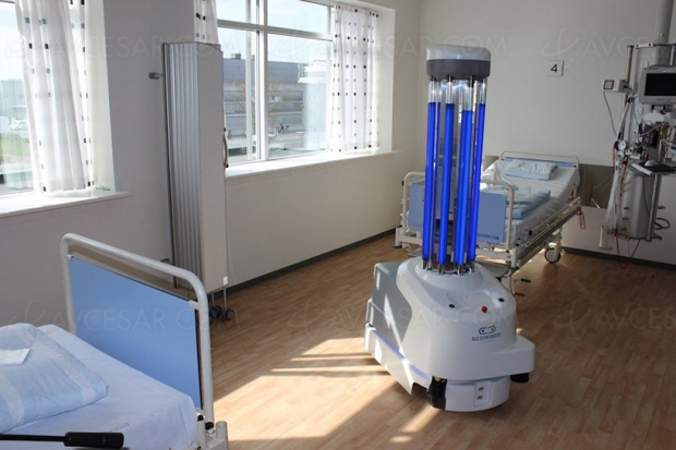 Robots VS coronavirus, on n'arrête pas le progrès