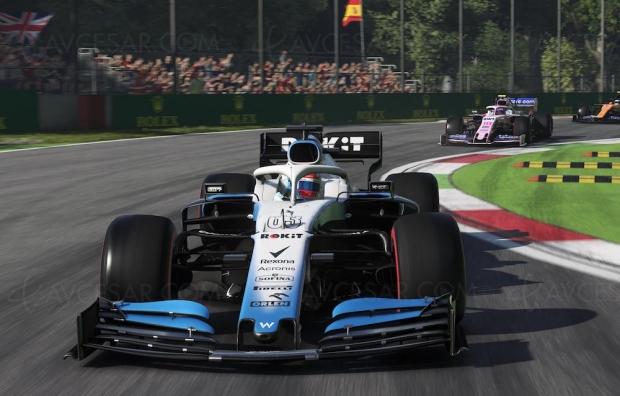 Chamboulée, la saison de Formule 1 continue… en jeu vidéo (#coronavirus)