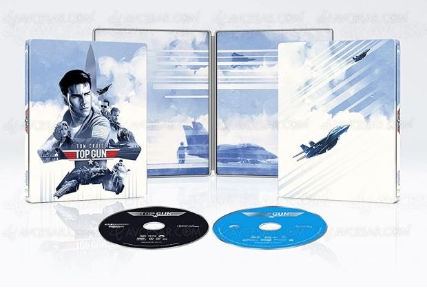 Top Gun 4K HDR Dolby Vision, ça va briller, sortez les Ray-Ban !
