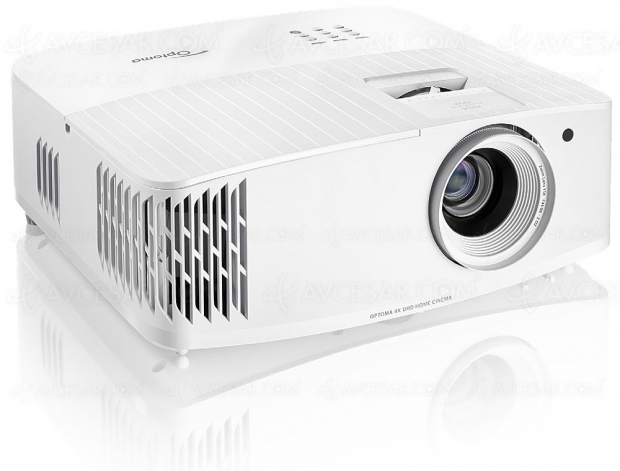 Optoma UHD30, vidéoprojecteur DLP simili Ultra HD/4K et 1 080p/200 Hz