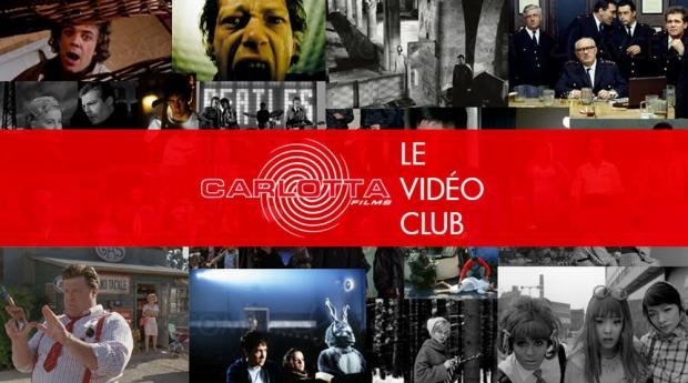 Carlotta Films lance son vidéoclub en SVOD : 50 films et des bonus en accès libre