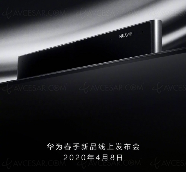 Nouveau Smart TV Huawei Vision le 8 avril