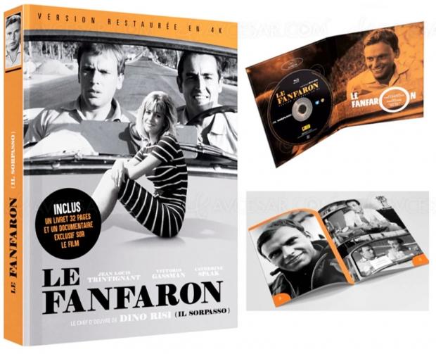 Vittorio Gassman, Jean-Louis Trintignant : Le Fanfaron de Dino Risi restauré en 4K