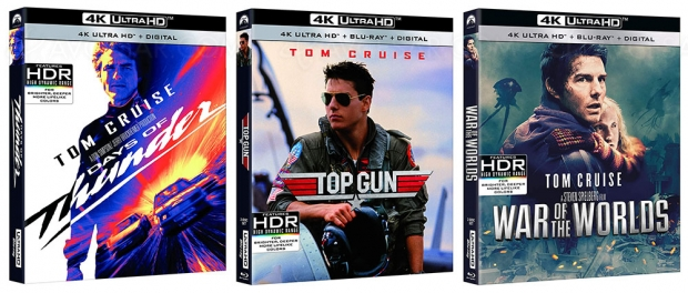 Top Gun, Jours de tonnerre et La guerre des mondes en 4K Ultra en juillet en France