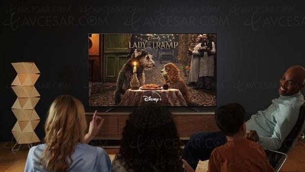 Disney+ sur Smart TV Android Sony (depuis les modèles 2015), disponibilité dès le 7 avril