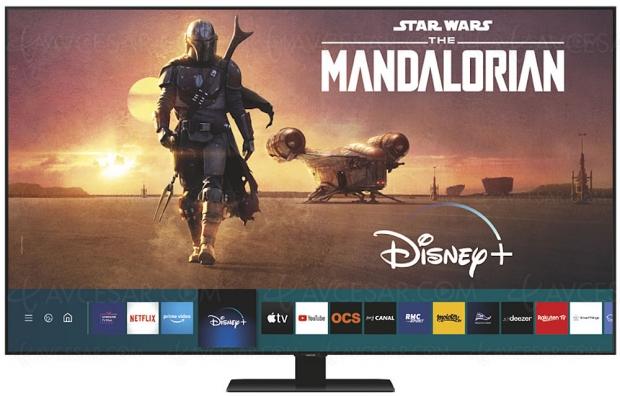 Disney+ disponible sur Smart TV LG et Samsung à partir des gammes 2016