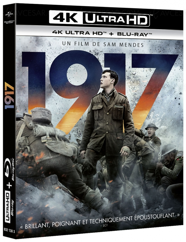 Planning 4K Ultra HD jusqu'en août 2020 : 1917, Les dents de la mer, Top Gun, Gladiator, La reine des neiges 2, The Gentlemen