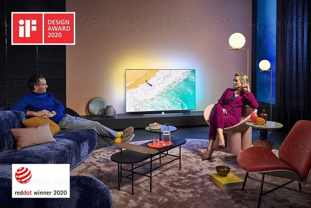 Sept prix Red Dot Design Awards 2020 pour Philips
