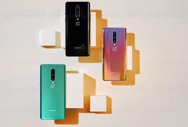 Smartphone OnePlus 8 5G, écran 6,55'' 90 Hz, Wi‑Fi 6 et design premium