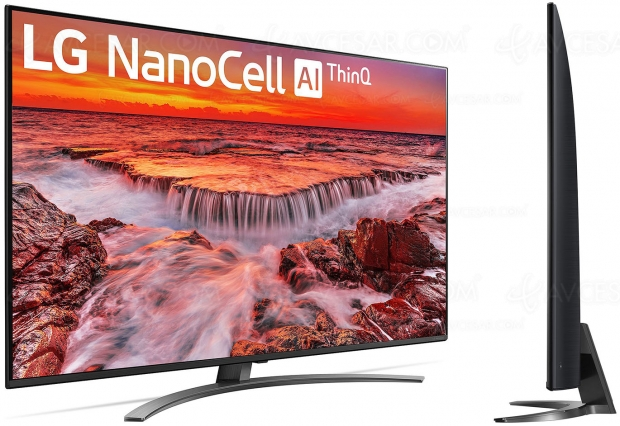 TV LED NanoCell Ultra HD LG NANO816 : 49'', 55