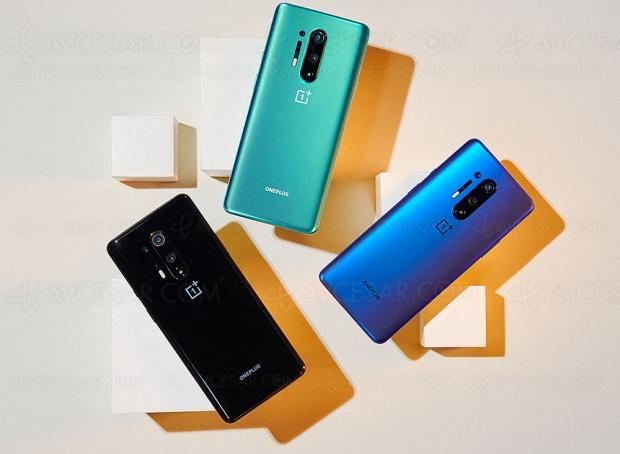 Smartphone OnePlus 8 Pro 5G, écran 6,78'' 120 Hz, Wi‑Fi 6 et design premium