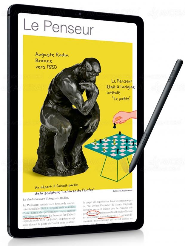 Samsung Galaxy Tab S6 Lite : tablette 10,4'' polyvalente