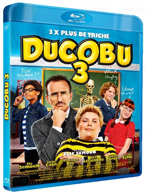 Ducobu 3 sur tous les fronts : VOD, digital, Blu‑Ray et DVD