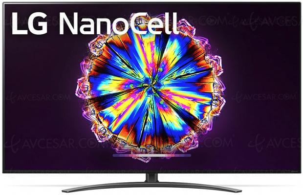 TV LED Ultra HD LG NANO916 : 55