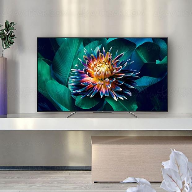 TV QLED Ultra HD 4K TCL C71, mise à jour spécifications et prix indicatifs