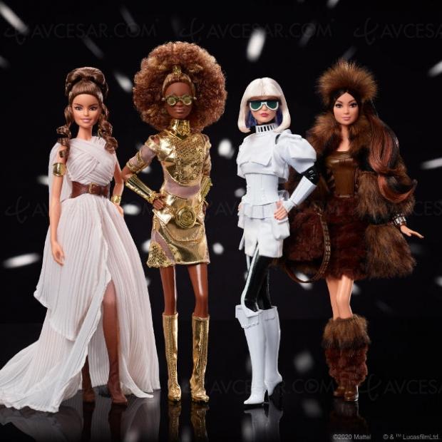 Barbies relookées façon Star Wars… et c'est pas mal !