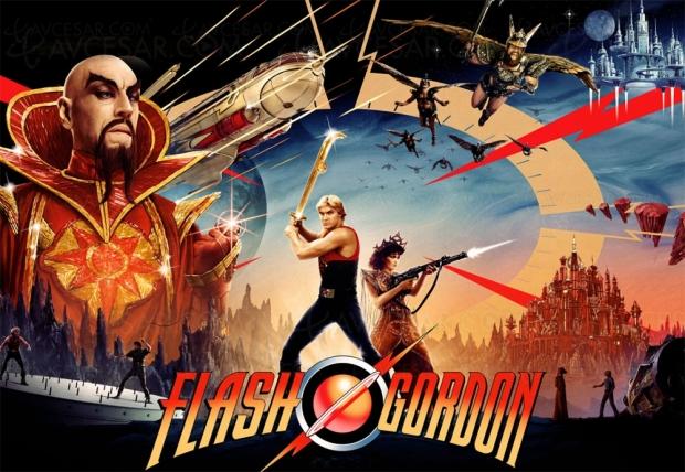 Flash Gordon, le 5 août en 4K HDR Dolby Vision dans un coffret tout feu tout flamme