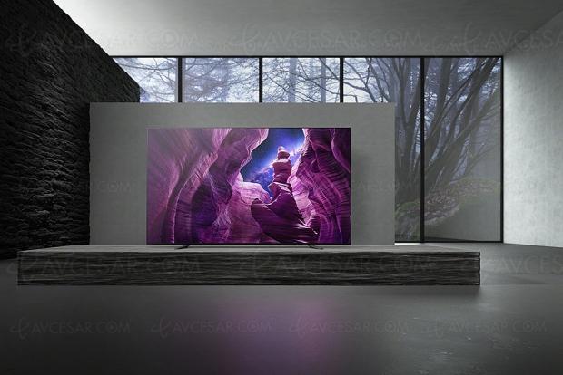 TV Oled Ultra HD Sony A8, mise à jour prix indicatifs