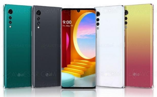 Nouveau smartphone LG Velvet : moins de 700 €