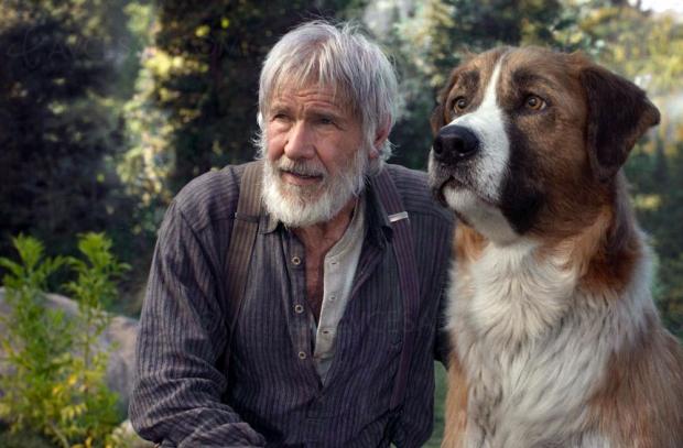 L'appel de la forêt: Harrison Ford et son chien bientôt en VOD et digital