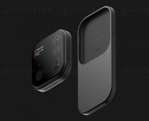 iPhone avec module caméra amovible (concept)
