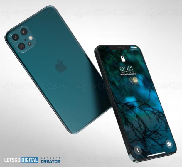 Grosse fuite iPhone 12 : noms, prix et caractéristiques