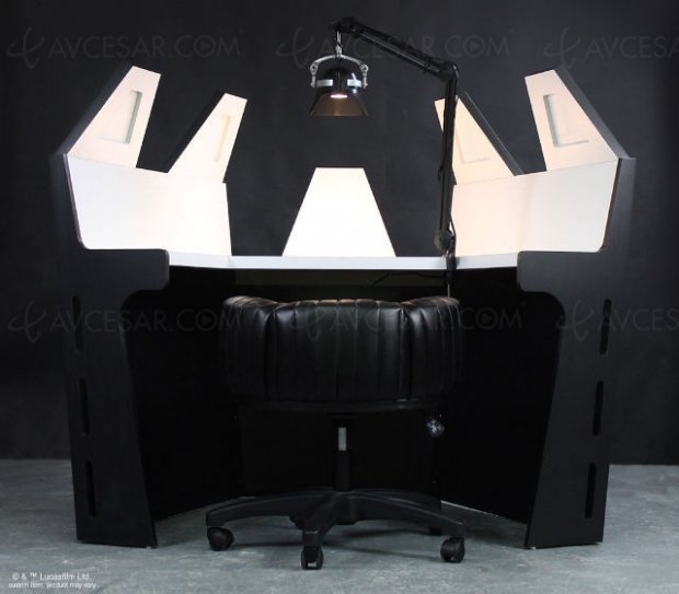 Le bureau de Dark Vador (presque) comme dans L'empire contre-attaque