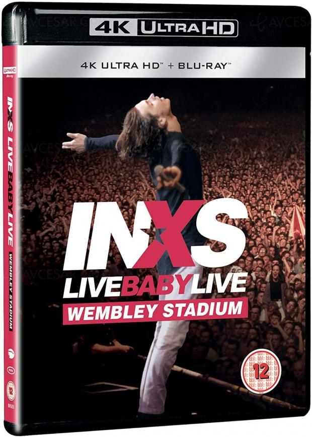 INXS : Live Baby Live, le 4K Ultra HD en précommande en France !