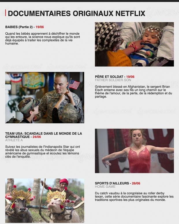 Quoi de neuf sur Netflix en juin ? Fini le confinement ?