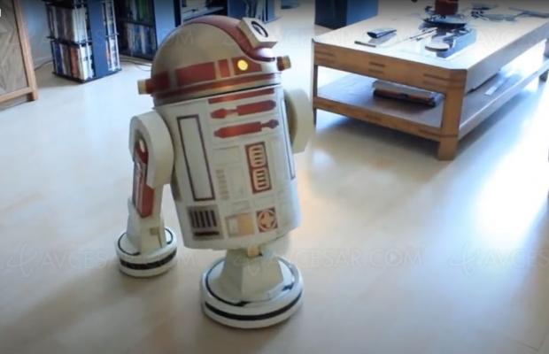 Aspirateur R2‑D2, mais pourquoi personne n'y avait pensé ?