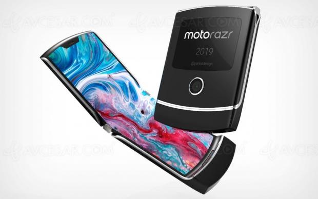 Nouveau smartphone pliable Motorola Razr 5G en septembre ?
