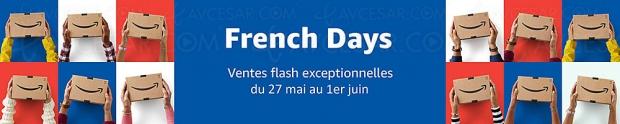 French Day Ventes flash Amazon, 2 258 produits jusqu'à -84% de remise