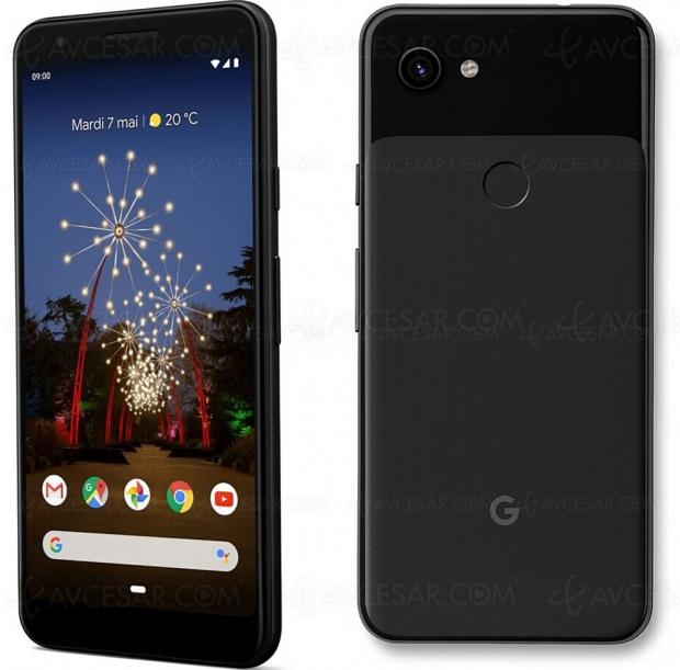 Soldes French Days, Google Pixel 3a à 249 €, soit 150 € ou -38% de remise