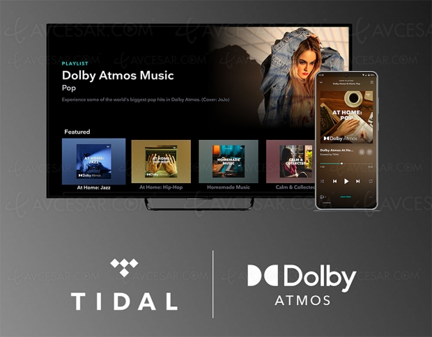 Dolby Atmos Music disponible sur Tidal Hi‑Fi