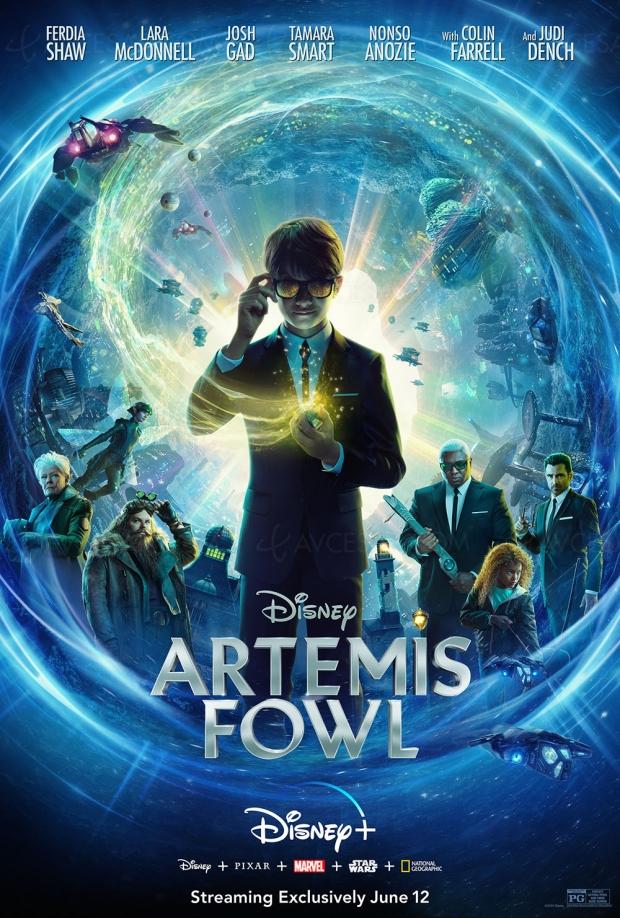 Artemis Fowl, Coulisses La reine des neiges 2, demandez le programme Disney+ en juin