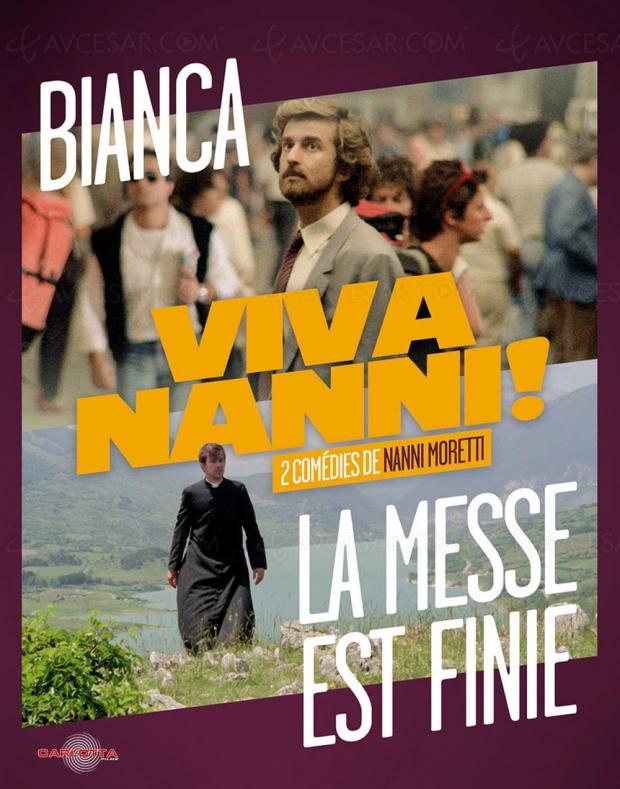 Coffret Viva Nanni ! : deux comédies intimes de Nanni Moretti bientôt chez Carlotta