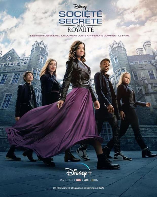 Société secrète de la royauté : un nouveau teenage movie à découvrir sur Disney+