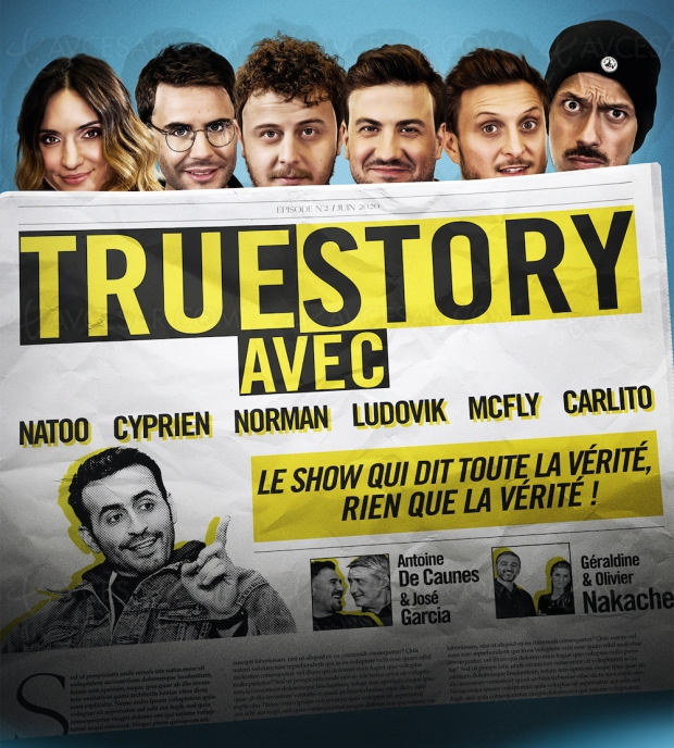 Natoo, Cyprien, Norman, Mcfly & Carlito… les Youtubeurs stars dans True Story sur Amazon Prime Video
