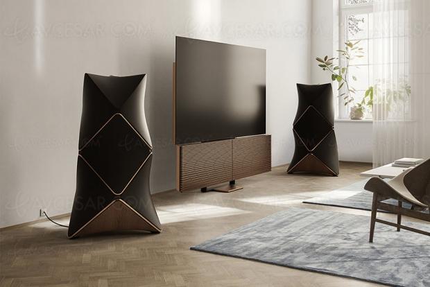 TV Oled Ultra HD 8K Bang & Olufsen Beovision Harmony 88, 46 500 € !