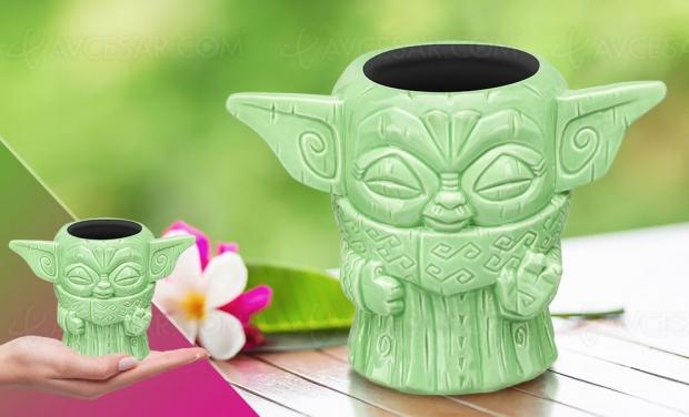 Le retour de la mode Tiki avec Baby Yoda de Mandalorian