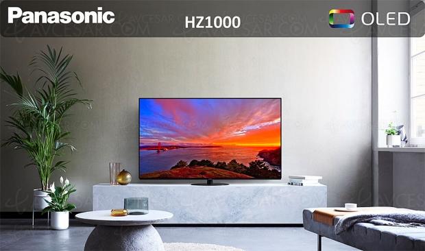 TV Oled Ultra HD 4K Panasonic HZ1000, mise à jour prix indicatifs
